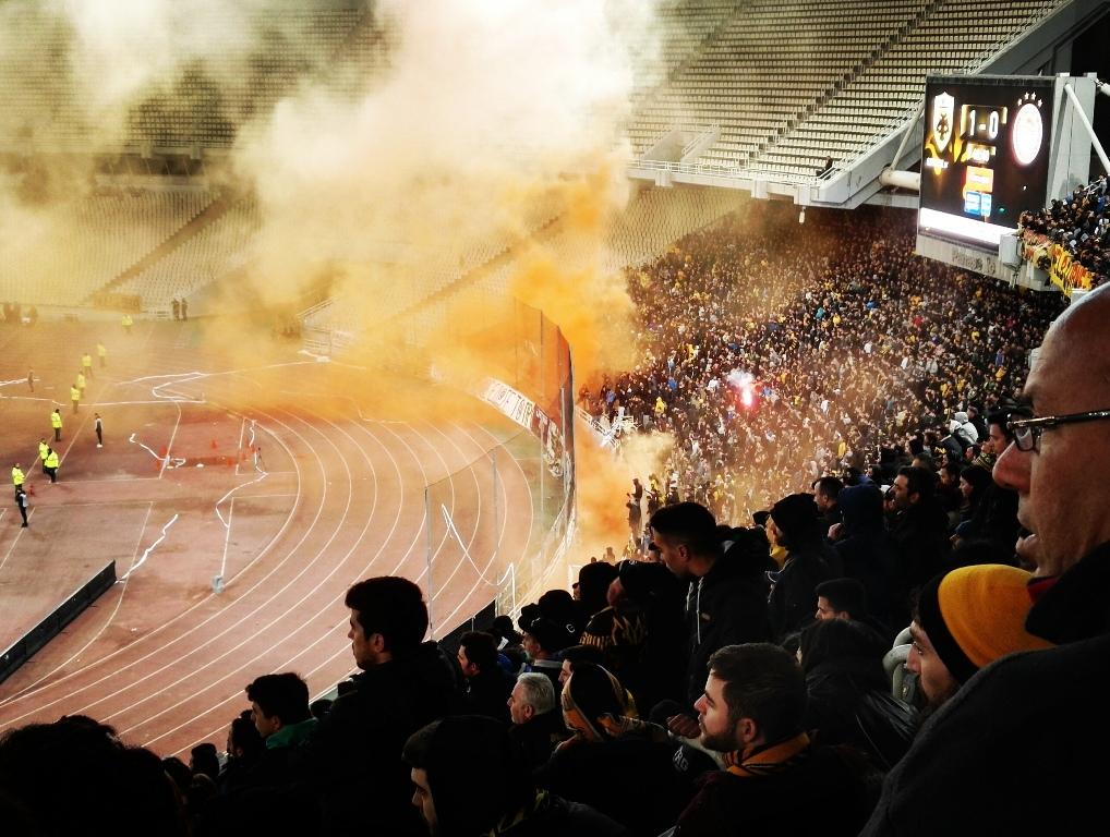 Fotbollen i Grekland