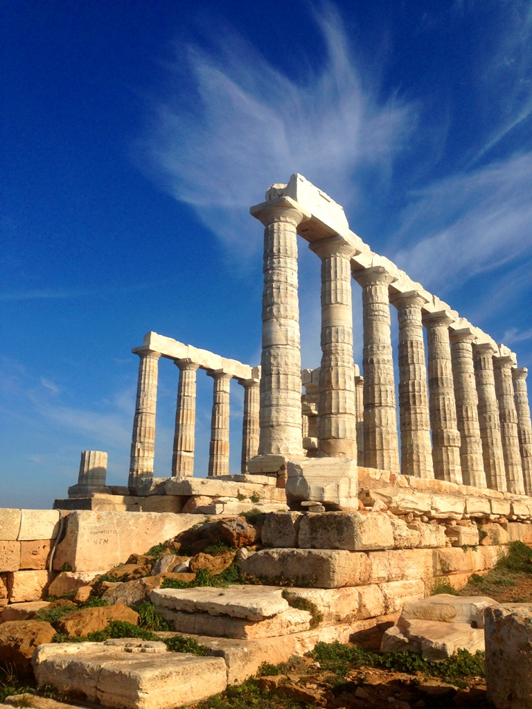 Sounio och Poseidons tempel