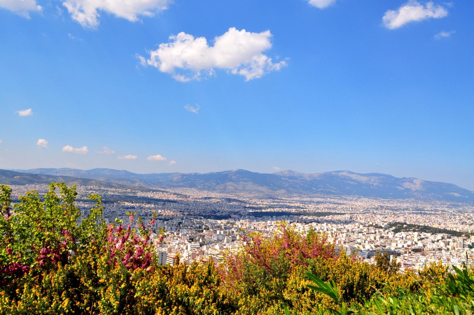 Atens 6 bästa utsiktsplatser